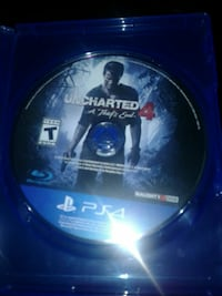 uncharted a thief's end 4 ps4 game disc Clarksburg, 20871