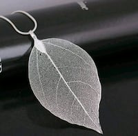 Real Leaf Necklace - St. Silver Frederick, 21701