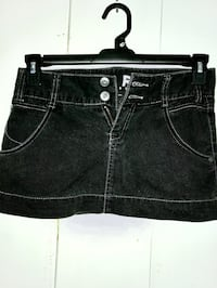 Roxy black denim mini skirt sz XS Wahiawa, 96786