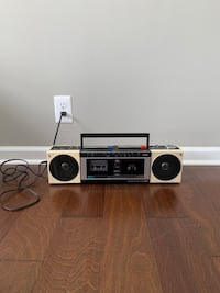 Radio and Cassette Boombox