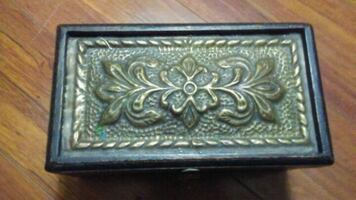 Old wooden box
