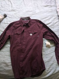 VANS mens long sleeve