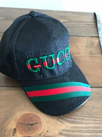 black and green Gucci fitted cap Maple Ridge, V2X 7H5