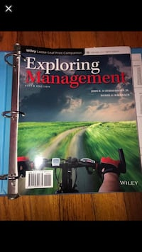 Exploring management 6th edition