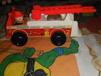 Vintage Fisher Price Fire Truck  Toronto, M1N 1J3