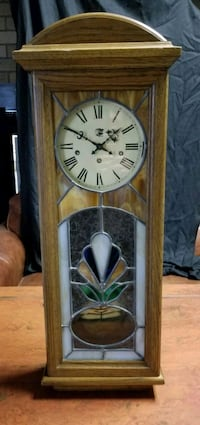 San Francisco Clock Co Wall Mounted Stained Glass Salt Lake City, 84123
