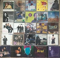 25 90s Hip Hop/RB CDs