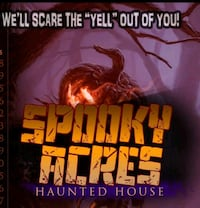 Spooky Acres Haunted House & Arcade  Portsmouth
