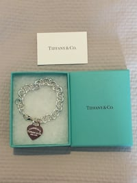 Tiffany and co heart tag bracelet
