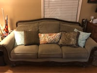 Comfy Couch & Chair + Ottoman