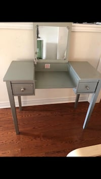 gray wooden 2-drawer nightstand Brampton, L6V 6A9