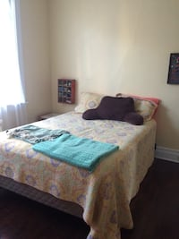Queen Sized Bed (mattress box spring and bed frame) Pittsburgh, 15206