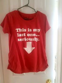 Maternity shirt medium This is my last one Serious Laval, H7W 1K5