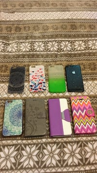 8 really nice iPhone 6 cases. 3 are wallets. Andover, 55304