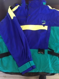 blue and green zip-up jacket South Amboy, 08879