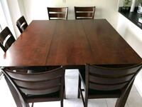 Solid Wood Dining Table with 6 Chairs Toronto, M1C 4J3