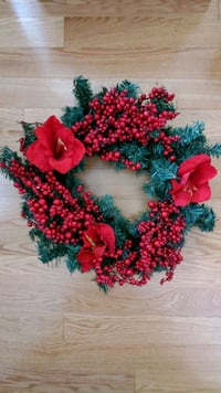 Red Christmas Wreath  Toronto, M8W 1Y3