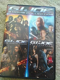 G.I. Joe 2 Disc DVD Collection Lake Mills, 53551