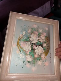 Pictures with frames floral art