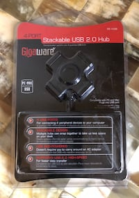 Gigaware stackable 4 USB ports Chico, 95926