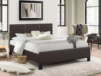 Selling Brand New Pu-Leather Bed Toronto