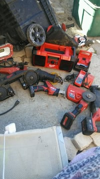 red and black Milwaukee cordless power drill Los Angeles, 91605