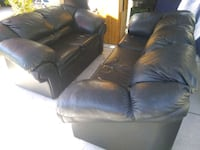 Leather couch and loveseat combo Las Vegas, 89149