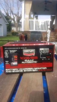 Battery charger, fully automatic,with manual, box.