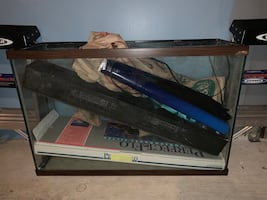 Salt Water Fish Tank with Accessories