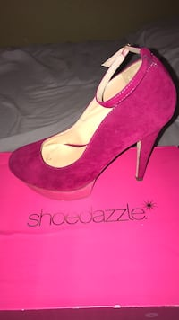 Pink high heels size:7.5 San Angelo