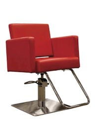 Red Avant styling chair (3 available) Calgary, T3E 7H4