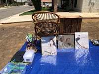 All sorts of free things - we will be here until at least 3:30 then you can text at  Riverside, 92504