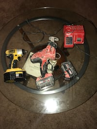 Dewalt and Milwaukee drills with charger  Alexandria, 22304