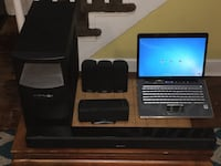 Hp laptop and home theater surround sound