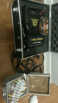 So long tattoo kit with 2 tattoo gun's and  ink  Kitchener, N2M 2G7