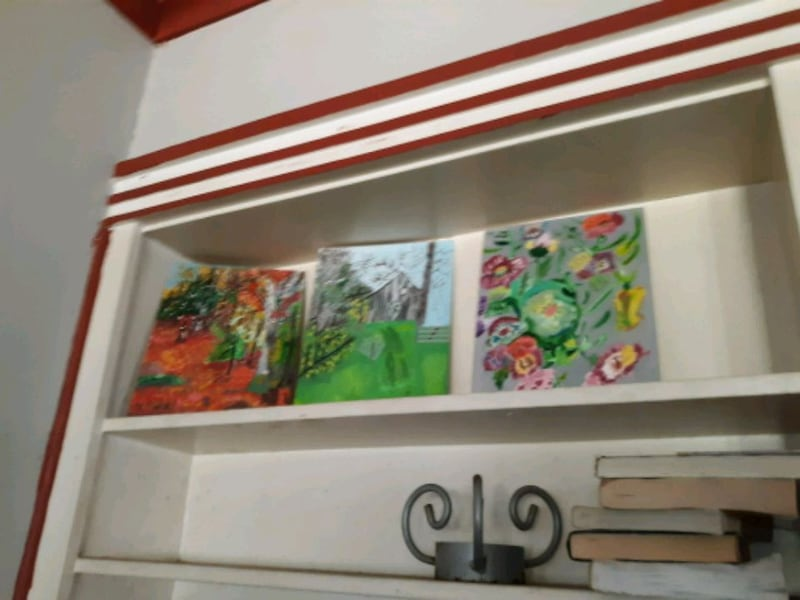 Floral Hand made Acrylic Paintings 2dec6c0a-ed9d-4dd6-9c03-a47c8f527f1a