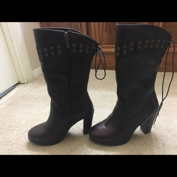 beautiful and Sexy Harley Davidson  Boots (worn only once)- original!