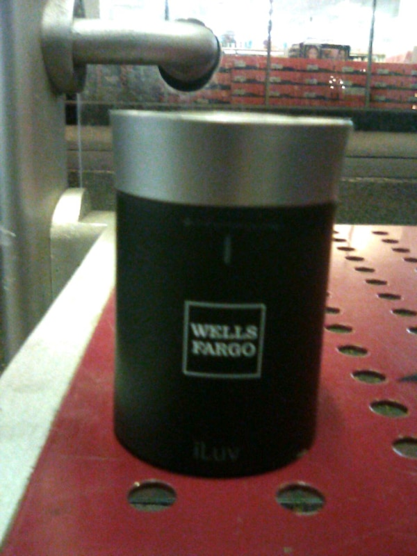 Wells Fargo Bluetooth speaker