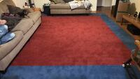 Large Red and Blue Room Rug Jacksonville, 32216