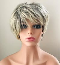 Gorgeous Ash Blonde Short Wig for Everyday