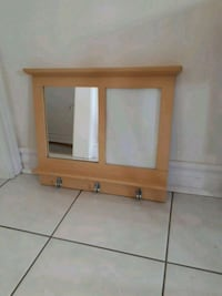 Mirror and picture frame with small shelf for keys Vaughan, L6A 1Y4