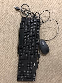 Dell wired keyboard and mouse Louisville, 40220