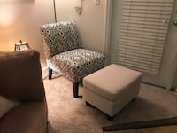 Accent chair and ottoman  Fairfax, 22033