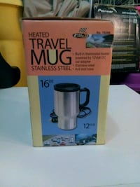 silver heater travel mug box Houma, 70364