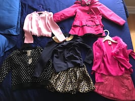 Girls clothes size 4.