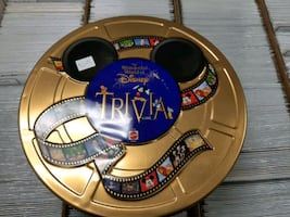 Disney Trivia Game in Tin Box $10