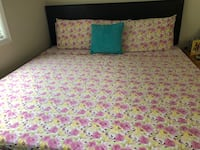 pink and white floral bed comforter Dunwoody, 30338