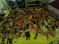200+ wwe action figures from 2011-2016 along with ring and accessories