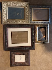 three brown wooden photo frames Manassas, 20110