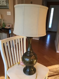 Olive green lamp Laurel, 20707